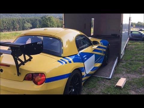 Destination Nurburgring Trackday BMW Z4 - [2017Vlog #DavidsDriverDiary #27]