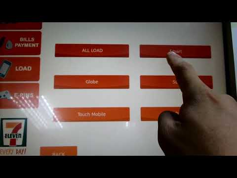 Cliqq Payment Processor Machine at Seven Eleven