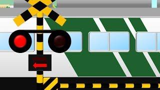 踊り子号と踏切 | 童謡 I've Been Working On The Railroad