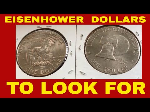 INTRO TO EISENHOWER DOLLARS WHAT TO LOOK FOR