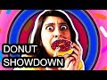 Who made the best DONUT CHALLENGE?!? (The Dirty Dozen)
