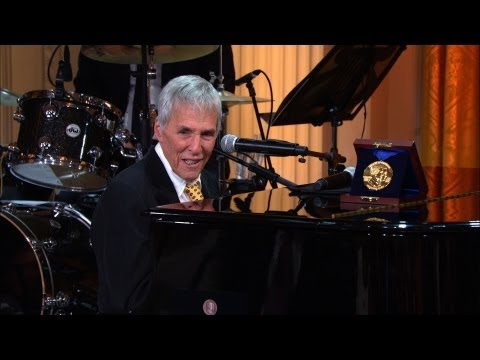 Behind the s as Burt Bacharach and Hal David receive the Gershwin Award