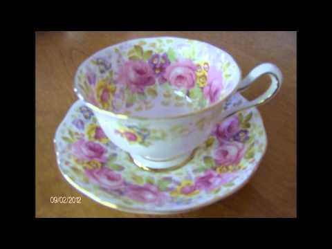 Vintage Tea Party Fine China Rentals