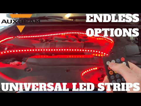 AUXBEAM LED LIGHT STRIPS | DISCOUNT CODE!!