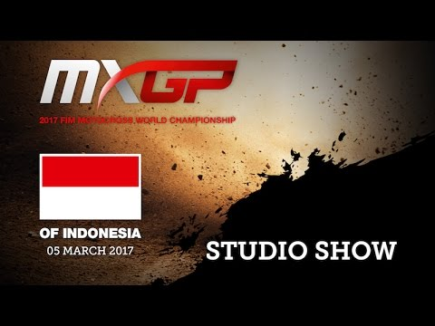 2017 MXGP of Indonesia Studio Show