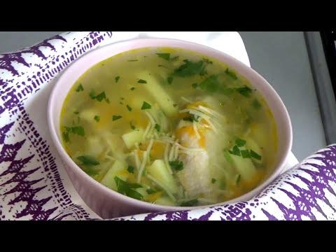 Как сварить вкусный куриный суп с вермишелью и картошкой