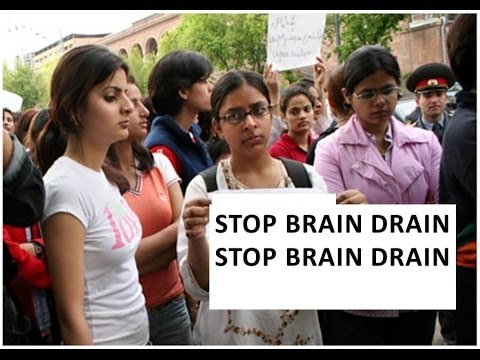 Brain Drain in INDIA.Must Watch.Exposed By Rajiv Dixit