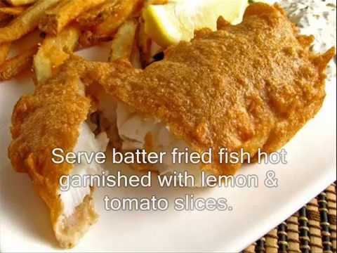 Batter Fried Fish Batter Fish How To Cook Batter Fried