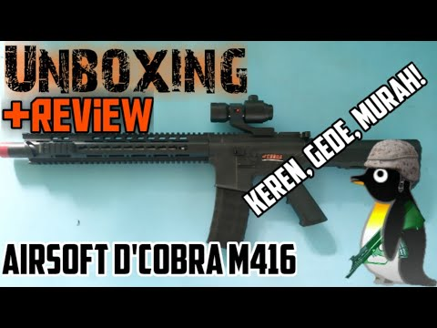 Unboxing Review Airsoft Tec M206 Adeknya Tec M306 Airsoft Indonesia Youtube