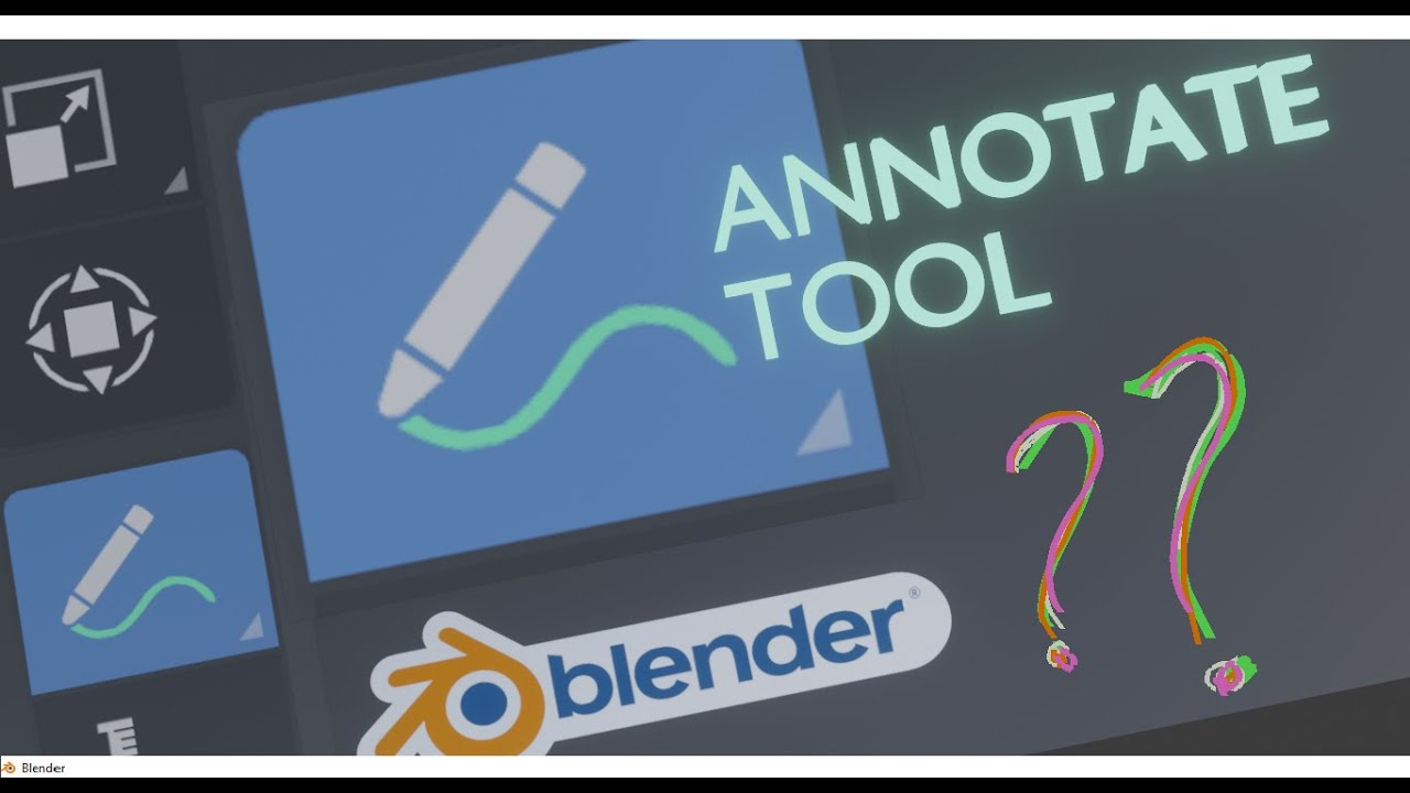 ANNOTATE TOOL Tutorial in BLENDER: Things you might not knew before
