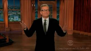 Drew Carey's epic monologue   Craig Ferguson and the ladies HD