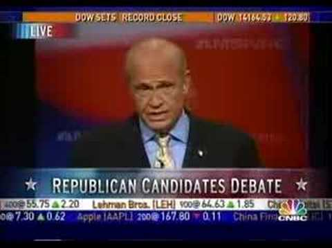 Fred Thompson Debate Clips