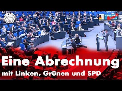 AfD - Eine Abrechnung mit Linken, Grünen und SPD