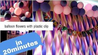 Easy Party backdrop DIY in 30 minutes