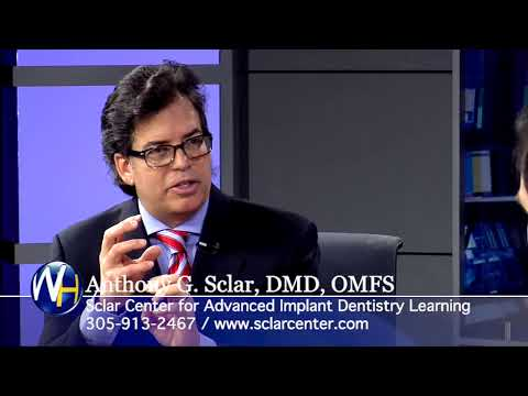The Business of Dental Implants - South Miami, FL oral surgeon Anthony Sclar, DMD