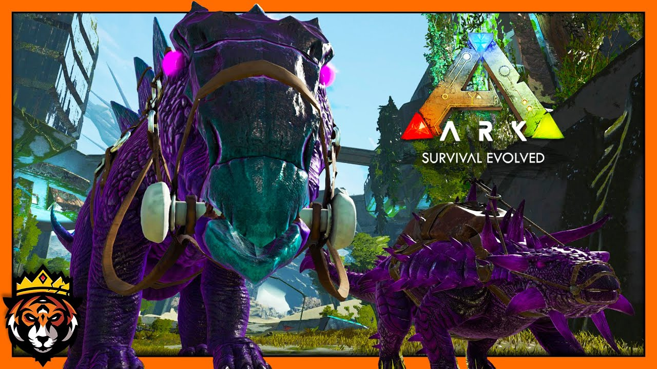 Taming FABLED Purple Dinosaurs - VERY STRONG! (Ark Survival Evolved Primal  Fear) #10
