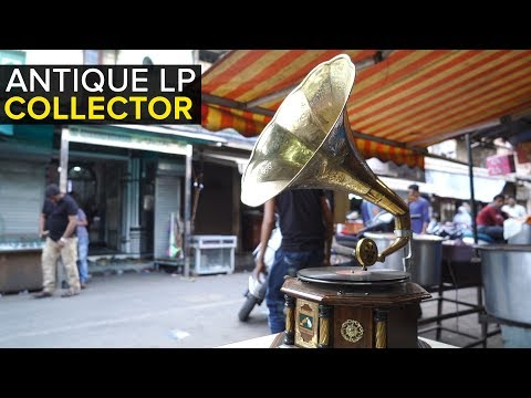 The Antique LP Collector of Mumbai's Chor Bazaar