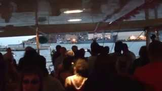 Vocal booth weekender 2014 catamaran party last song