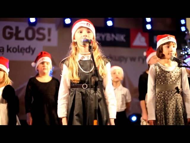 Rybnickie Dzieci Śpiewają Kolędy 2012.avi