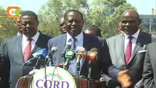 Mwenyekiti wa IEBC akutana na viongozi wa upinzani