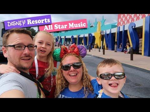 Disney All-Star Music Resort Tour