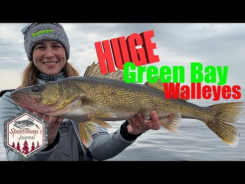 Fishing For HUGE Green Bay Walleyes (3 Over 30