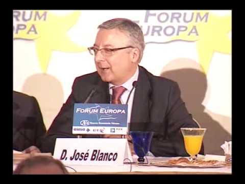 Fórum Europa con José Blanco