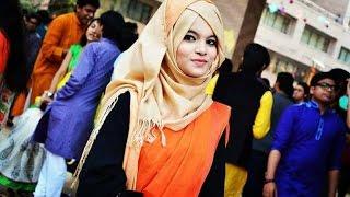 Highly requested hijab style SAREE ||Farzana Alin||