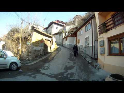 Climbing up Sarajevo city's Alifakovac old suburb   180312