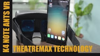 Lenovo K4 Note - TheatreMax ANT VR Headset Review