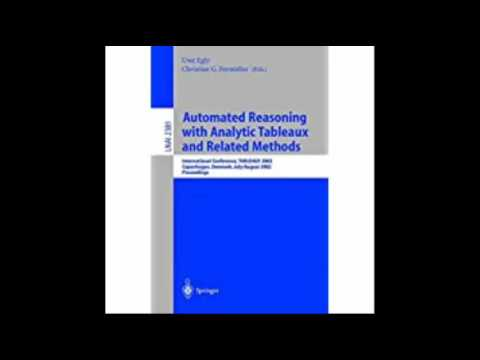Automated Reasoning with Analytic Tableaux and Related Methods International Conference, TABLEAUX 20