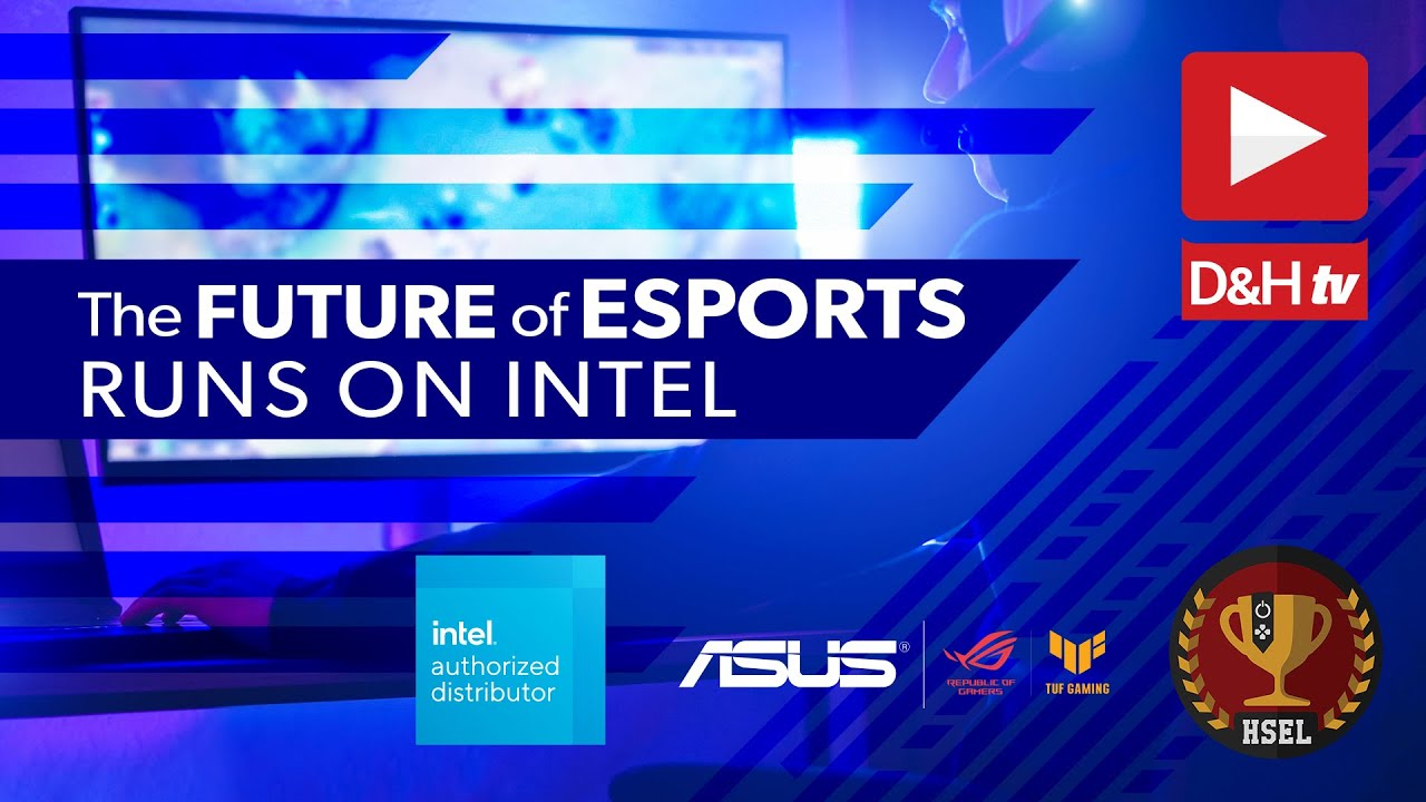 High School Esports League & Intel - a DHTV LIVE Panel Discussion, now On-Demand