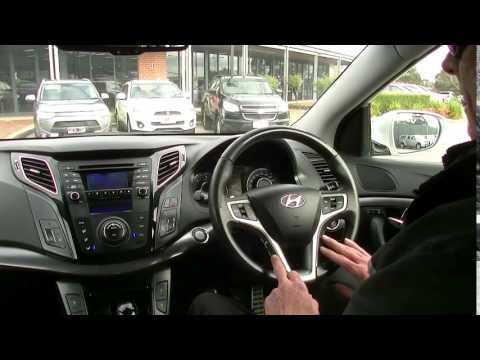 2011 HYUNDAI I40 VF PREMIUM TOURER Review B4236