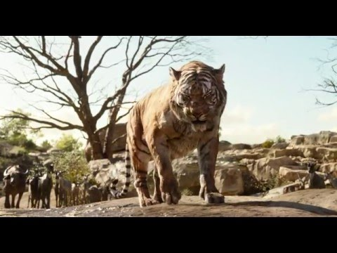 THE JUNGLE BOOK | Meet Shere Khan Clip | Official Disney UK