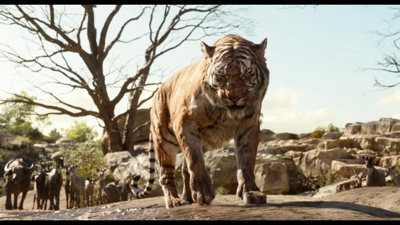 the jungle book | meet shere khan clip | official disney uk - youtube
