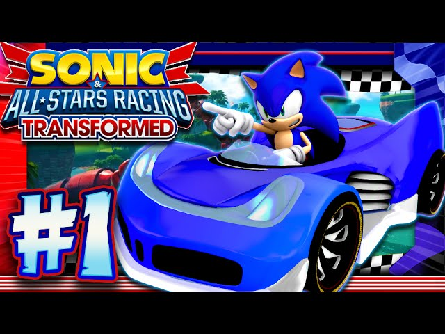 Sonic & All Stars Racing Transformed PC Part 1: Dragon Cup (1440p 60FPS)