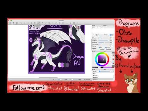 Talking about DID and Drawing (mic/music ON) - DISCORD IN DESC