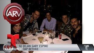 Arap Bethke y Gaby Espino terminaron su noviazgo | Al Rojo Vivo | Telemundo