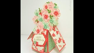 Stampin' Up Flower Shop Card In A Box Tutorial