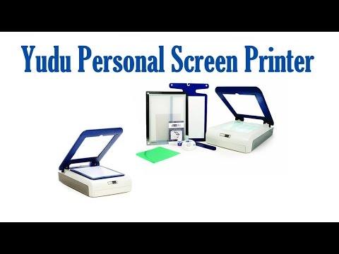 yudu personal screen printer | best screen printer - yudu personal ...