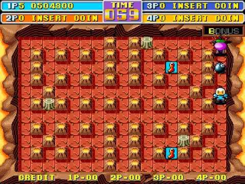 Arcade Longplay [441] Bomber Man World