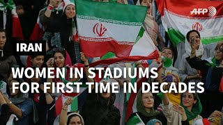 Iran women to see football freely for first time in decades | AFP