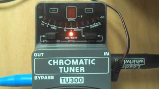 Behringer TU300 Demo Test Review PL
