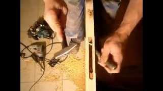 врезка магнитного замка ( установка дверей )(врезают все по разному , а мы так ( ошибок не бывает ) https://www.youtube.com/user/alexeygurov71., 2013-03-23T02:18:09.000Z)