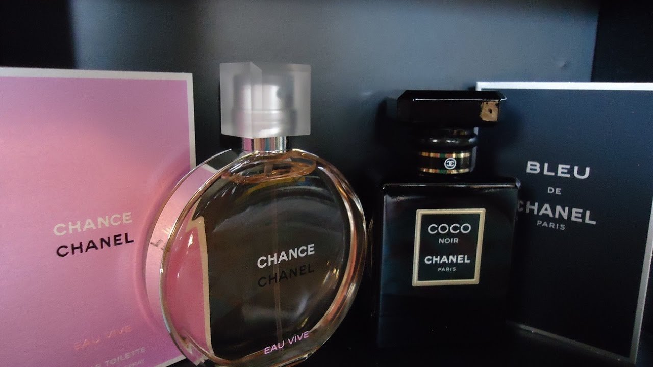 Chanel Unboxing Coco Noir And Chance Eau Vive 8 Crazy Nights Of