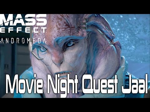 Mass effect Andromeda Movie Night Jaal (Setting Up The Tv)