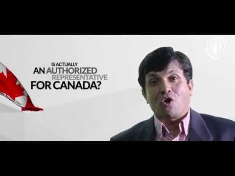 Is the Canadian Immigration consultant you are dealing with authorized to talk about Immigration