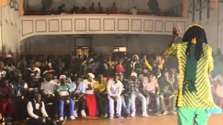 No.1Suspect badman performing at Rwanda/Burundi music fest Cape Town South Africa Sept 2015
