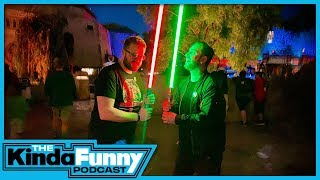 Our Real Life Star Wars Adventure w/ Anthony Carboni - Kinda Funny Podcast (Ep. 44)