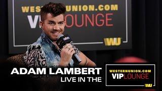 Adam Lambert Interview